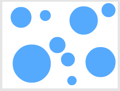 Circles Flash Blue 20