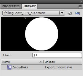 kirupa com - Falling Snow in Flash CS4/AS3 - Page 5
