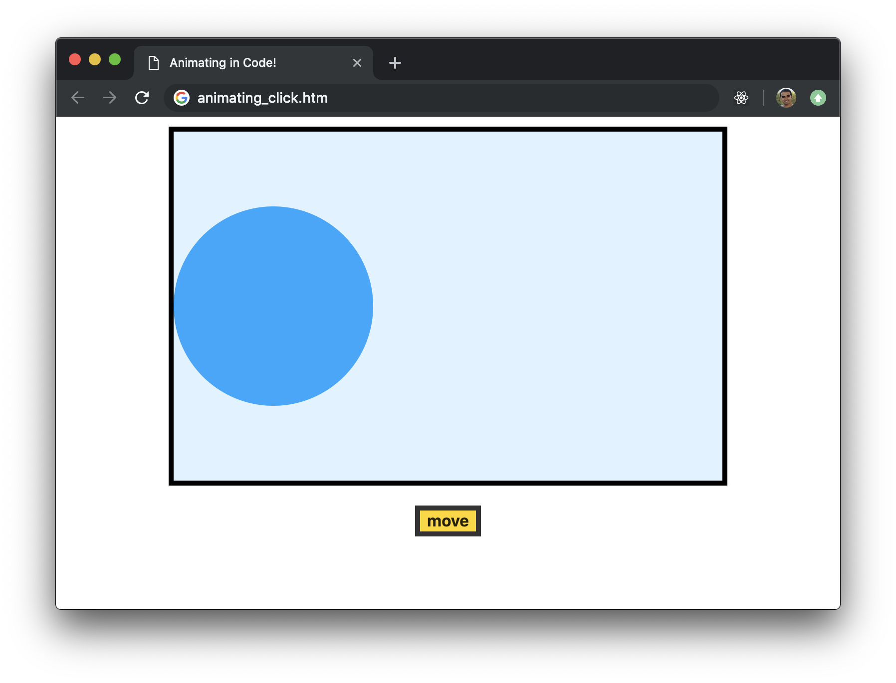 Creating Animations in JavaScript | KIRUPA