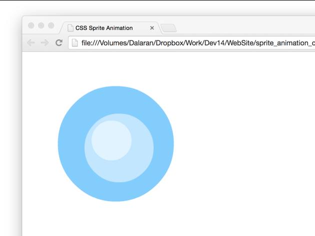 Sprite Sheet Animations Using Only CSS | kirupa com