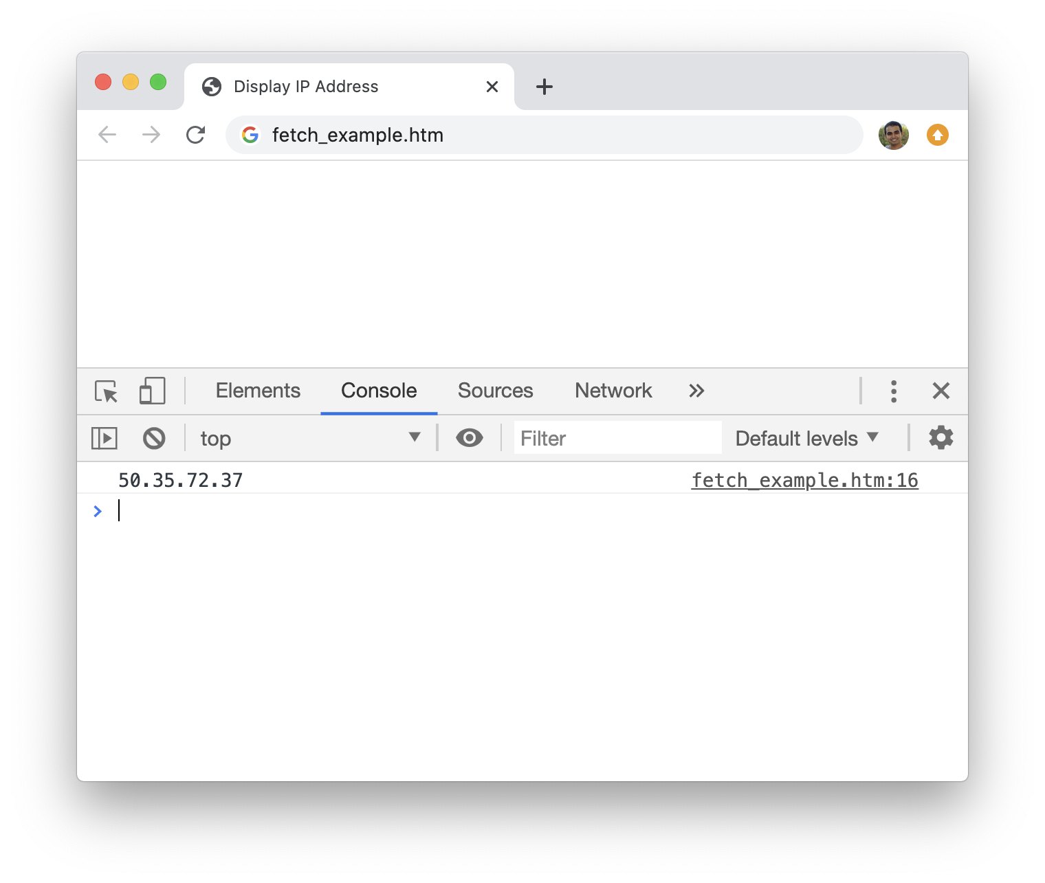 Making HTTP/Web Requests in JavaScript