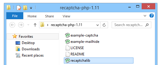 how to add recaptcha to php form