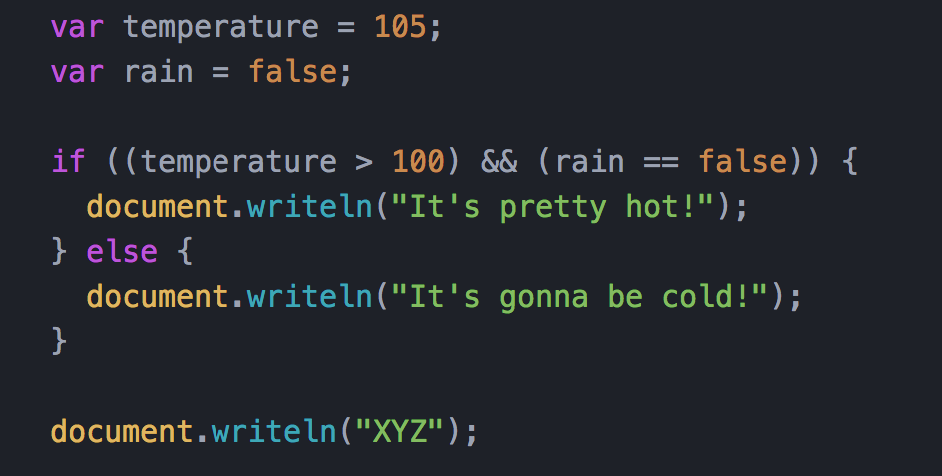 if...else - JavaScript | MDN
