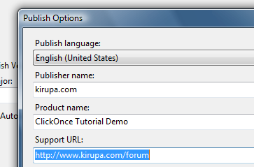 kirupa com - Using ClickOnce to Deploy  NET Apps, Page 5