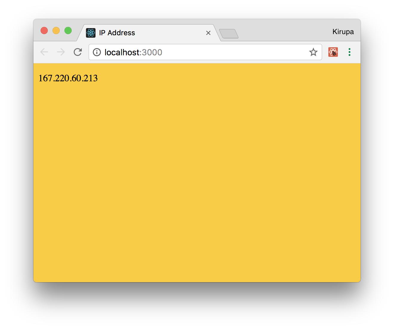 Working with External Data in React | kirupa com