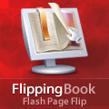 Flipping Book - page flip flash component